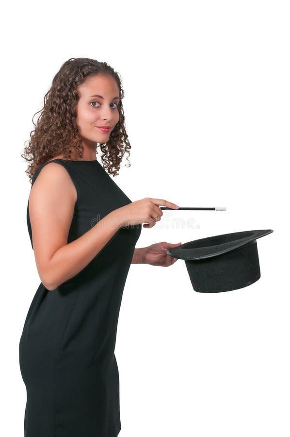 Magicienne de femme images stock