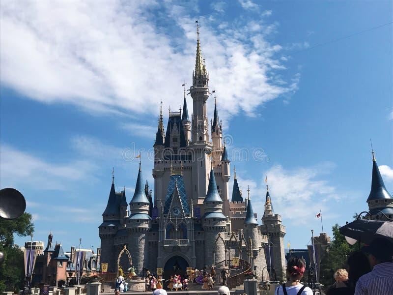 Magickingdom di magia di Disneyland immagini stock