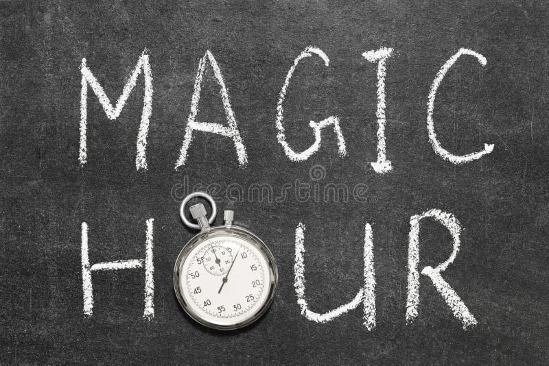 Magiczna godzina fotografia stock