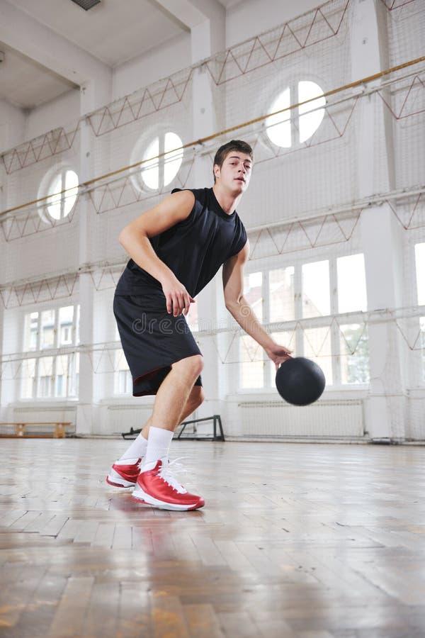 Magiczna koszykówka zdjęcia stock
