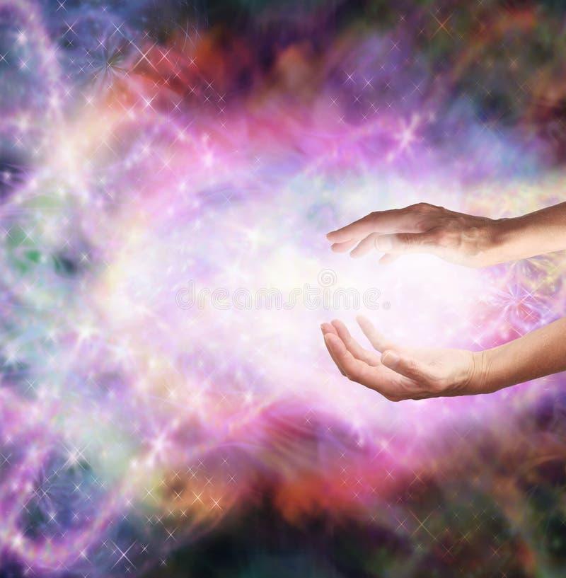 Magiczna Lecznicza energia obrazy royalty free