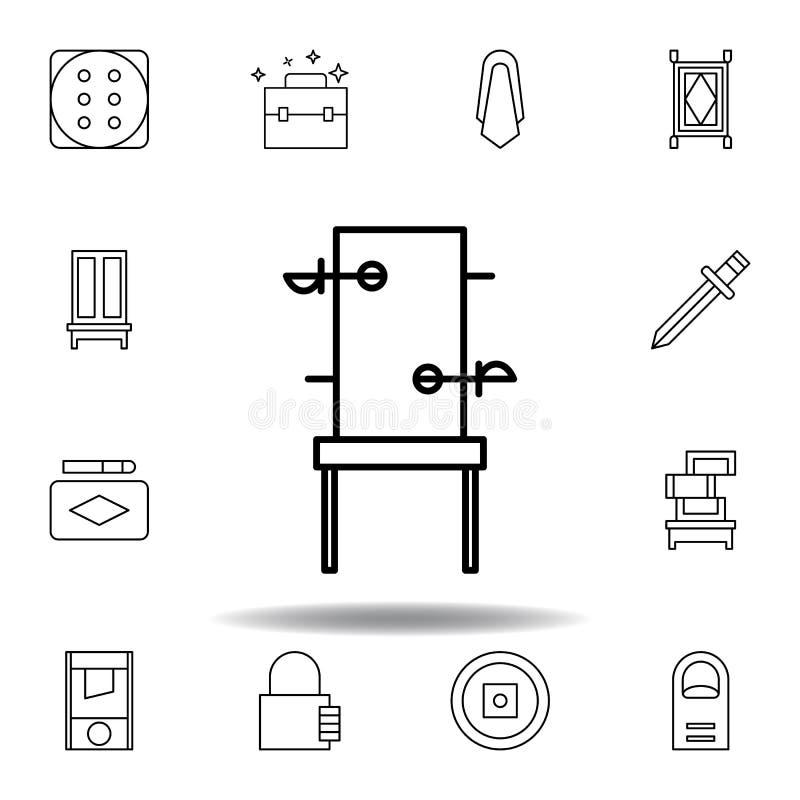 Magiczna przebijanie konturu ikona elementy magiczna ilustracji linii ikona znaki, symbole mogą używać dla sieci, logo, mobilny a ilustracji