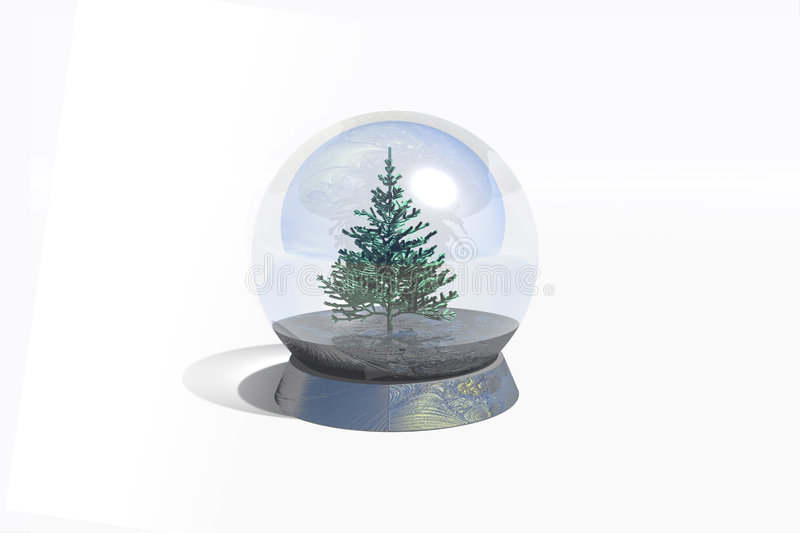 magiczna sfera ilustracja wektor
