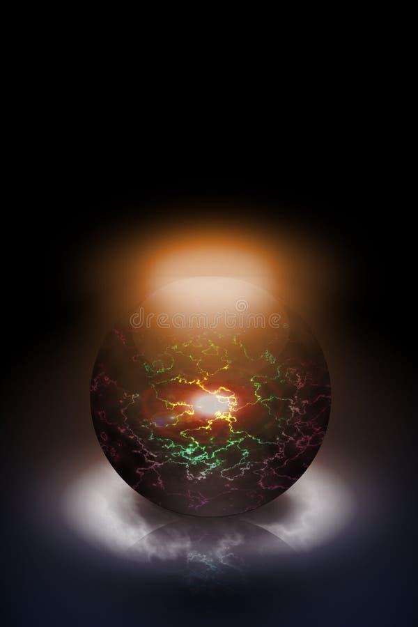 magiczna sfera obrazy royalty free