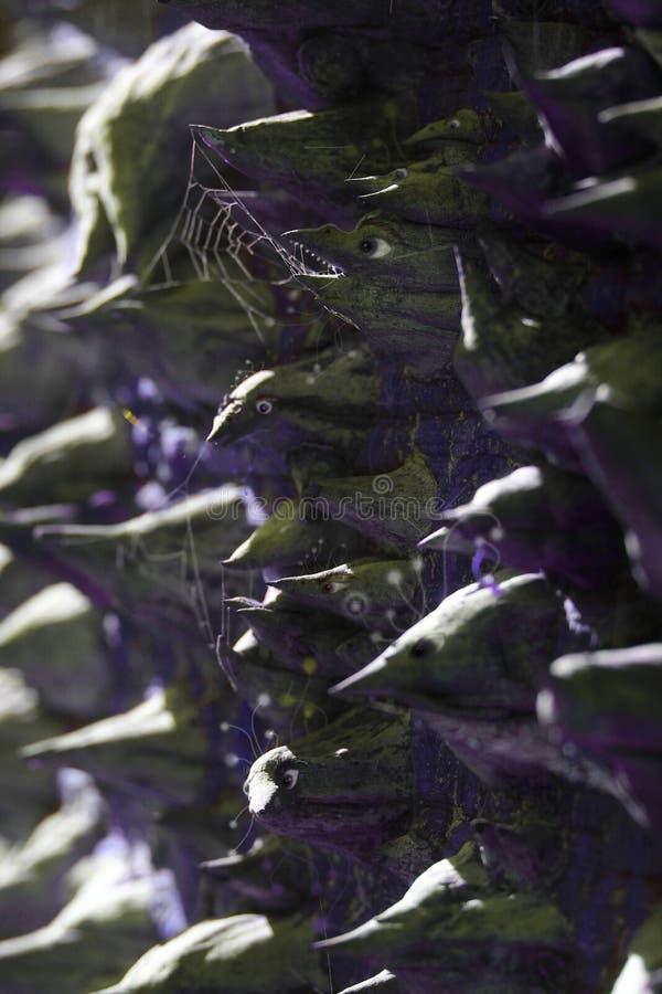 Magiczne Drzewne istoty Ilustracyjne fotografia stock