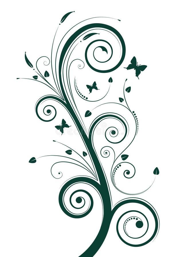 magiczne drzewo royalty ilustracja