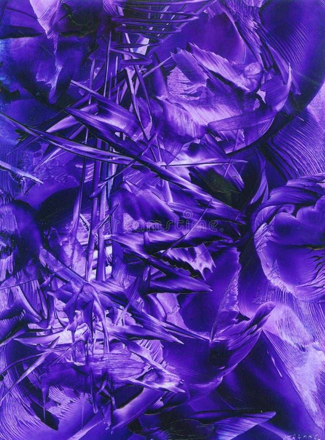 magiczne purpurowy royalty ilustracja