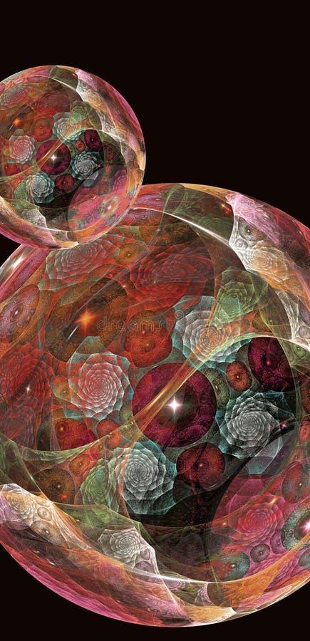 magiczne sfery ilustracja wektor
