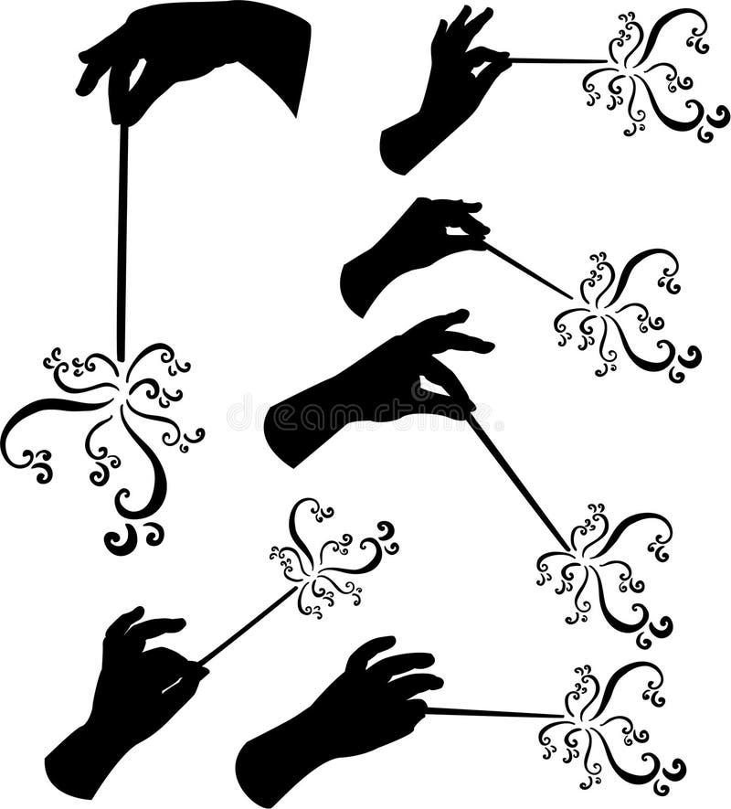 magiczne zaklęcie, royalty ilustracja