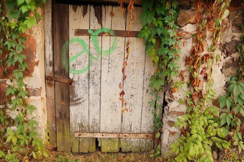 Magiczni drzwi obrazy stock