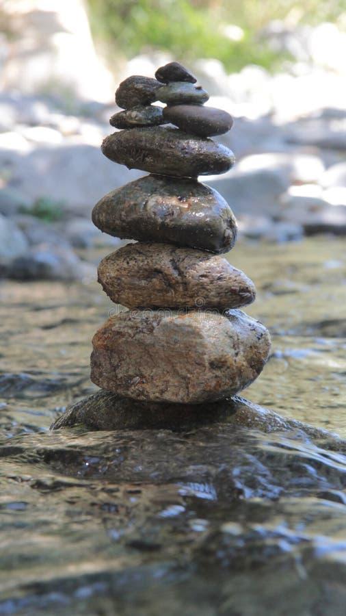 magiczni kamienie zdjęcie stock