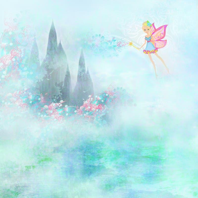 Magiczny bajki Princess Roszujący ilustracji