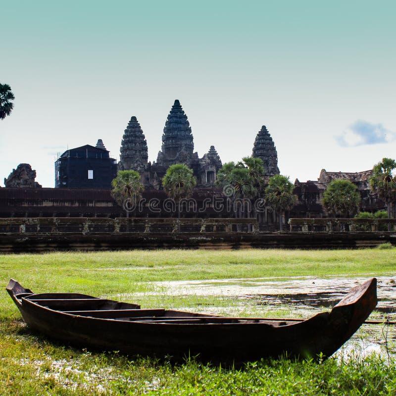 Magiczny Kambodża fotografia royalty free