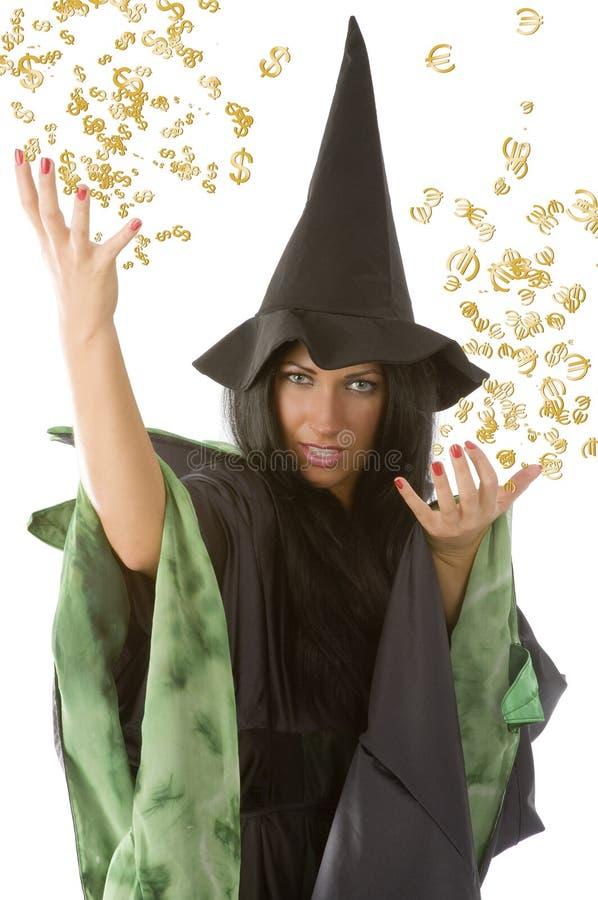 magiczny pieniądze obrazy stock