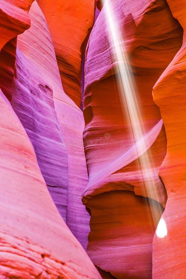 Magiczny promień światło słoneczne zdjęcie royalty free