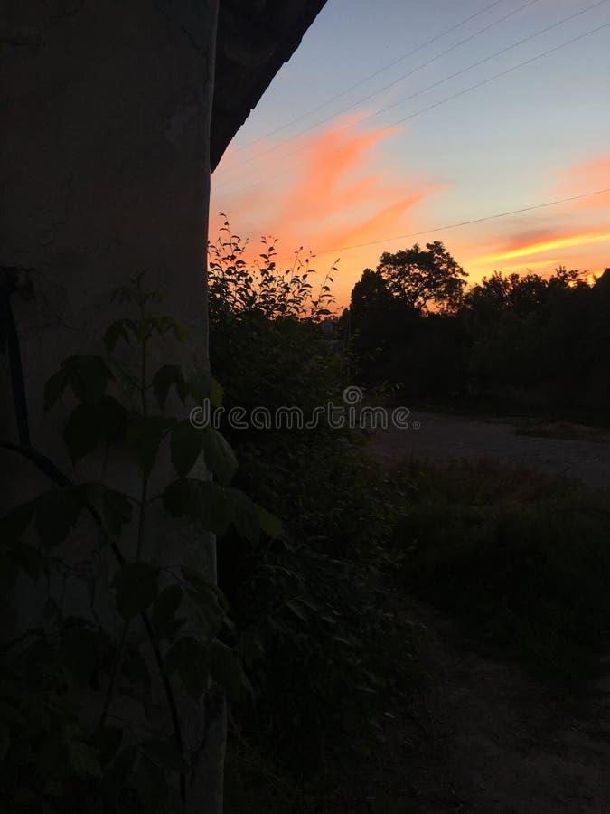 magiczny słońca fotografia stock
