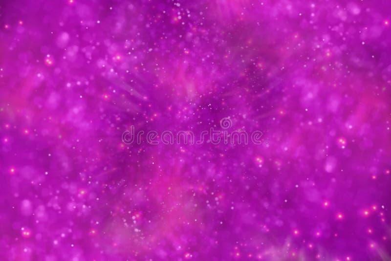 magiczny tło różowy abstrakcyjnych tło royalty ilustracja