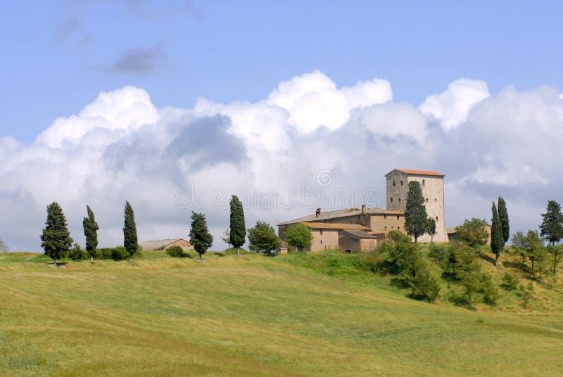 magiczny Toskanii zdjęcia stock