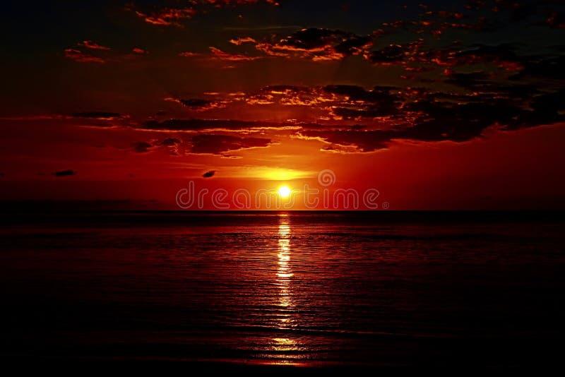 Magiczny wschód słońca obrazy stock