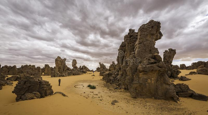 Magidet Libia immagine stock
