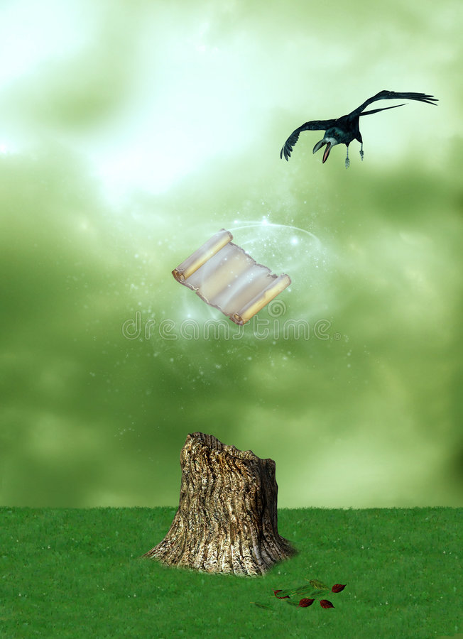 Magie illustration stock