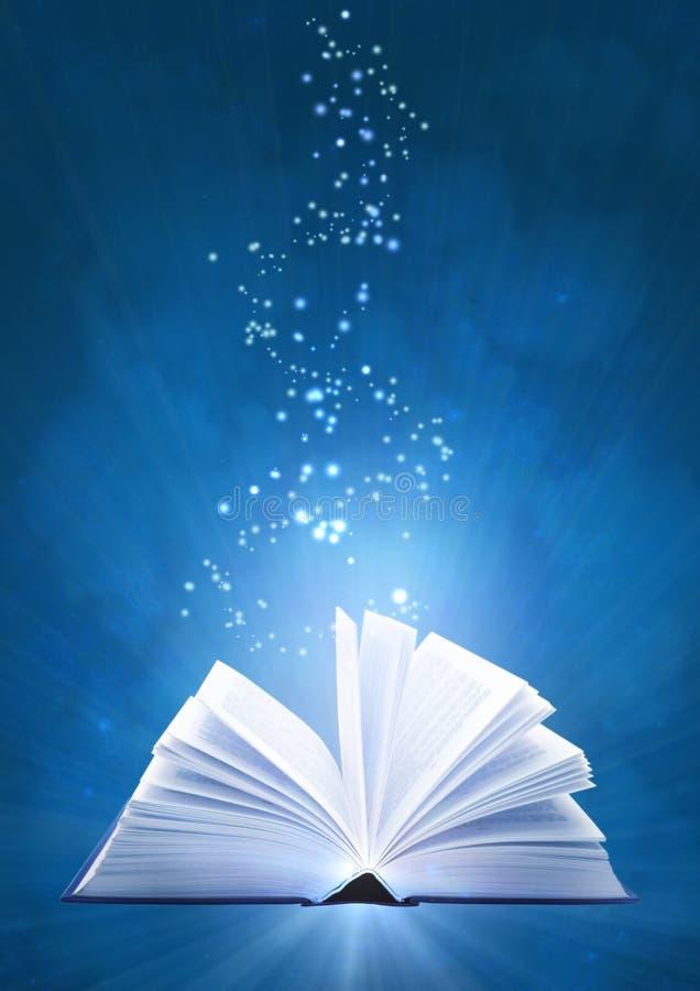 magie de livre illustration de vecteur