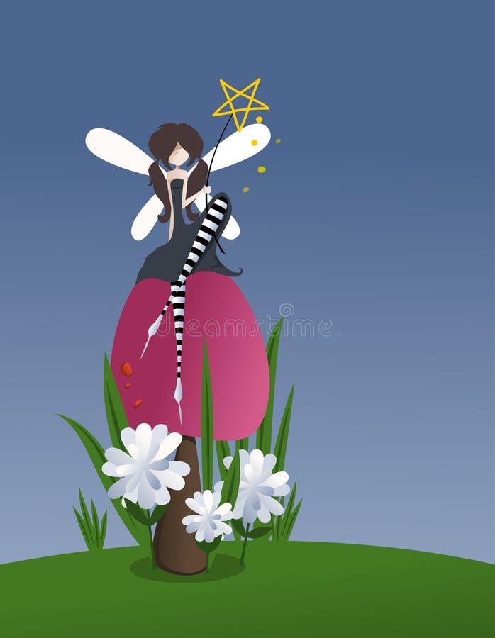 Magie féerique illustration de vecteur