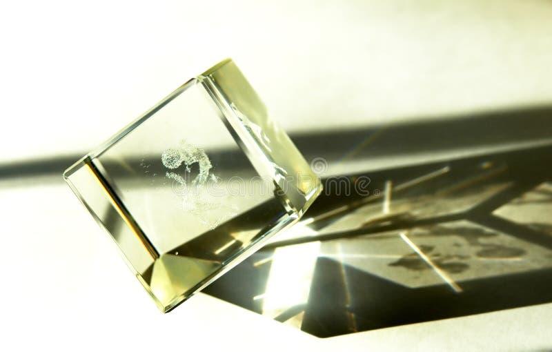 Magie kristal stockfoto