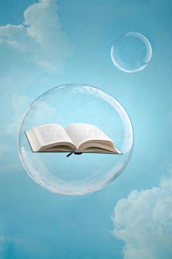 Magie von Büchern lizenzfreies stockbild