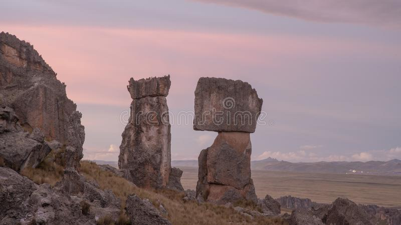 Magie von Peru stockbilder