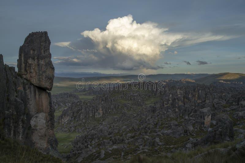 Magie von Peru stockbild