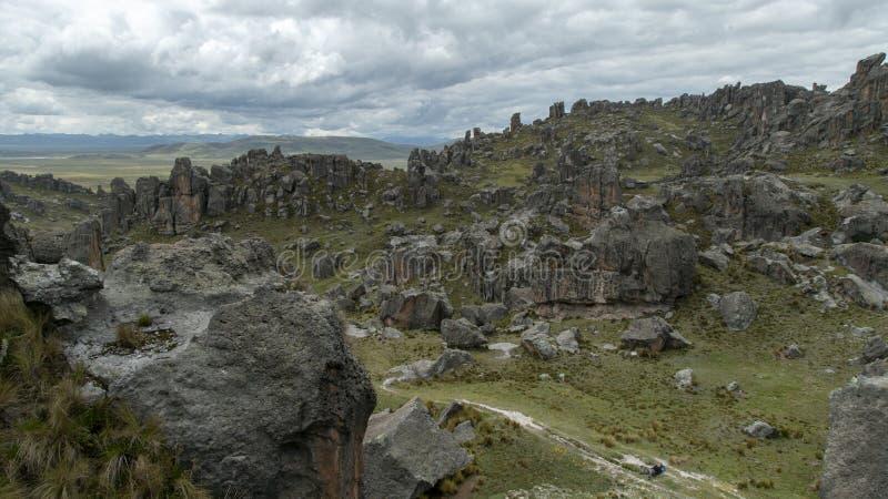 Magie von Peru stockfotos
