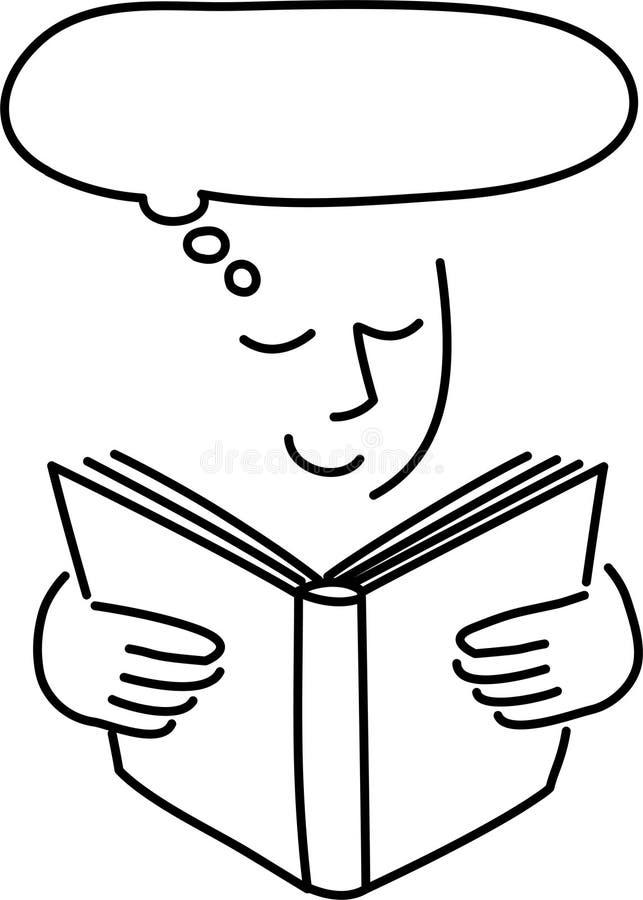 Magie von Reading/ai stock abbildung