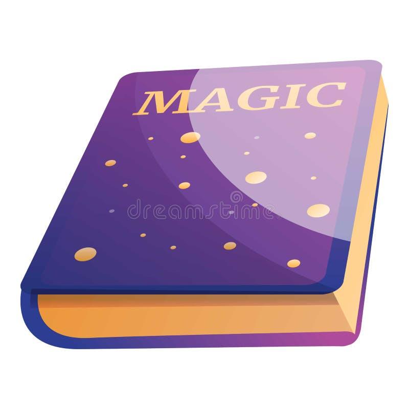 Magii ksi??kowa ikona, kresk?wka styl ilustracji