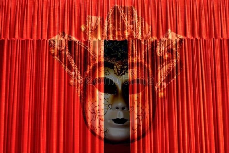 Magin av teatern royaltyfri bild