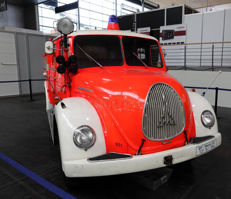 Magirus Deutz Fire Truck From 1960 Editorial Stock Photo