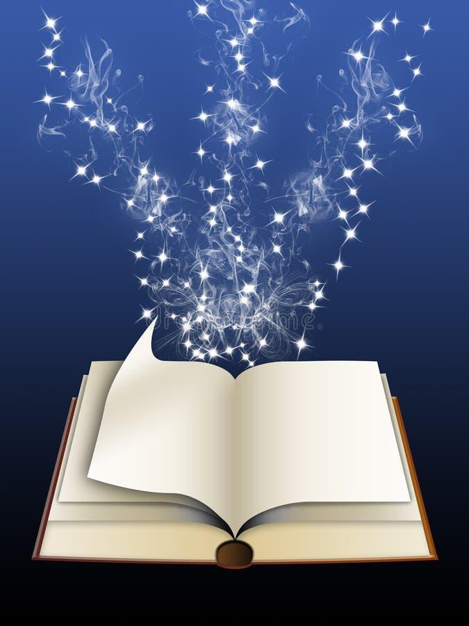 Magisch boek (01) royalty-vrije illustratie
