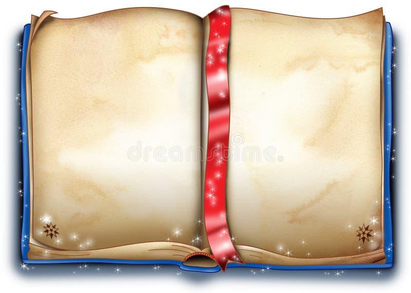Magisch boek stock illustratie