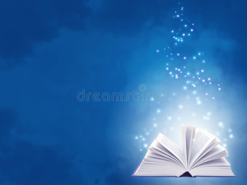 Magisch boek royalty-vrije illustratie