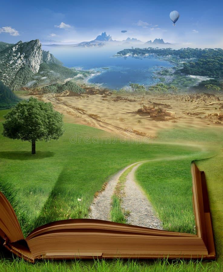 Magisch boek royalty-vrije stock afbeeldingen
