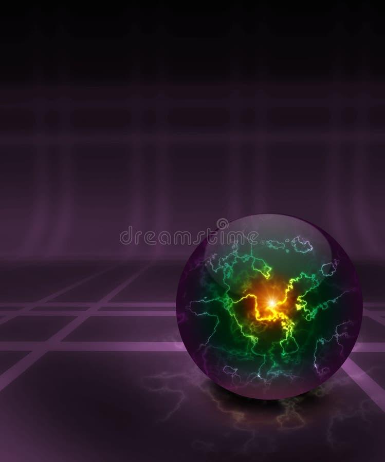 Magisch gebied vector illustratie
