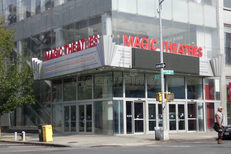 Magisch Johnson Theatre stock afbeeldingen