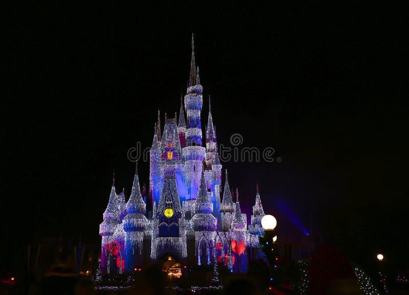 Magisch koninkrijk in Orlando stock afbeelding