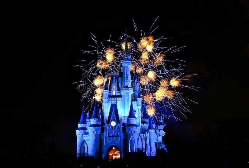 Magisch koninkrijk in Orlando royalty-vrije stock foto