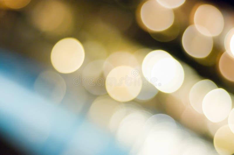 Magisch licht in de nacht stock foto's