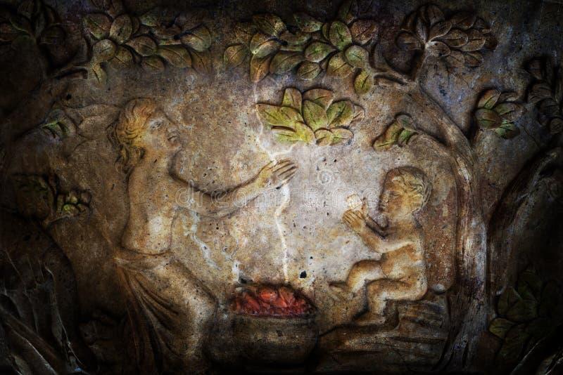 Magisch ritueel royalty-vrije stock afbeeldingen