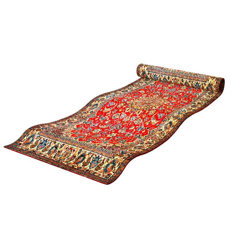 Magisch tapijt stock illustratie