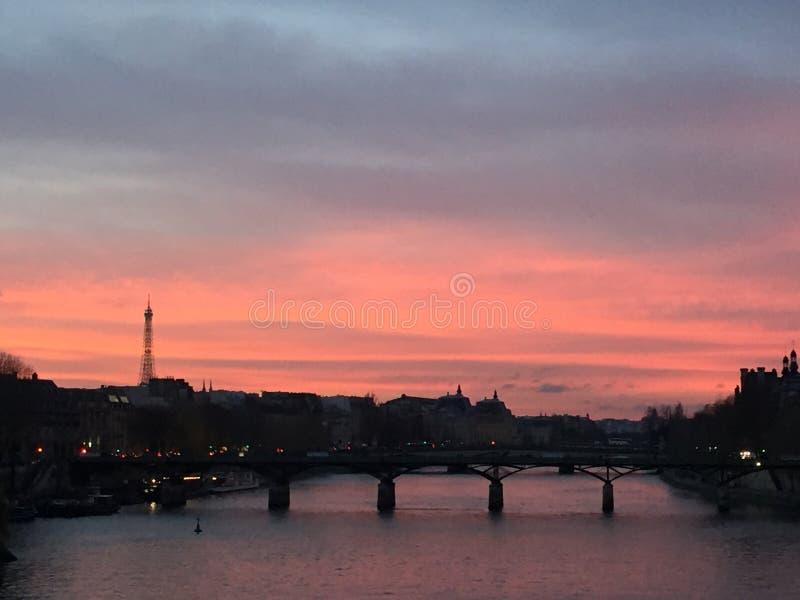 Magisch Uur in Parijs stock foto