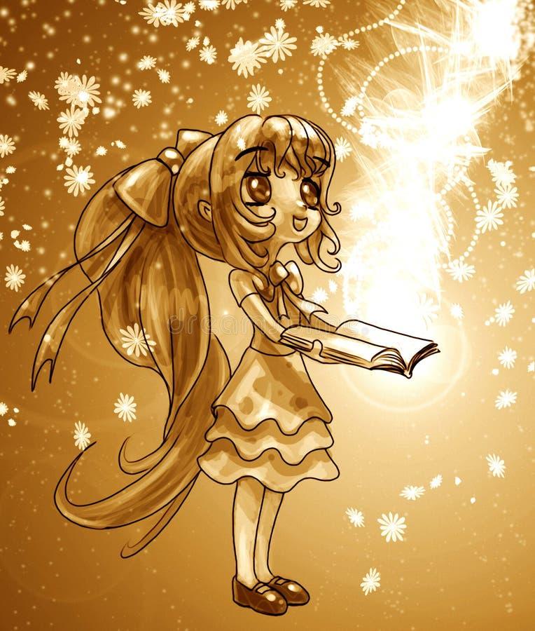 Magisch van Boeken royalty-vrije illustratie