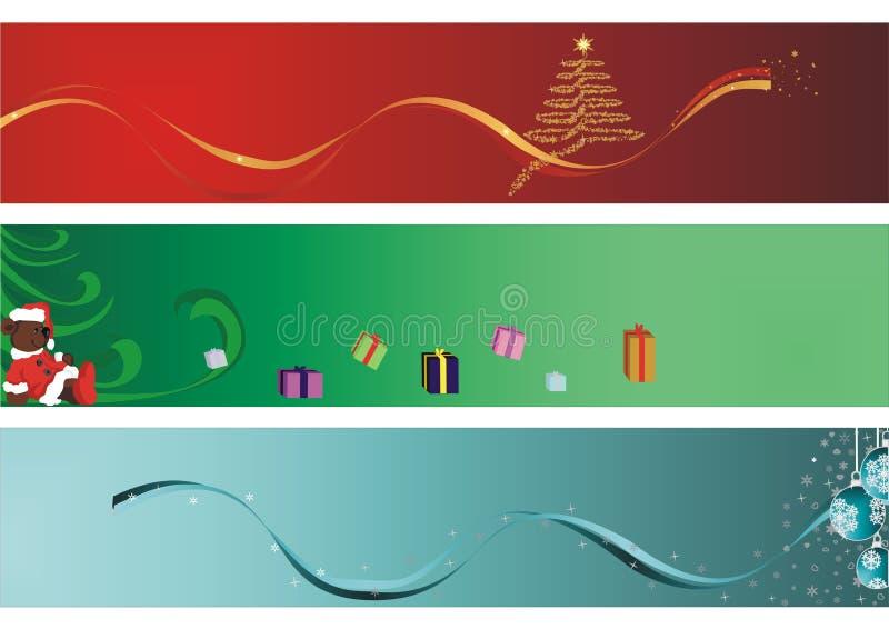 Magisch van Kerstmis stock illustratie